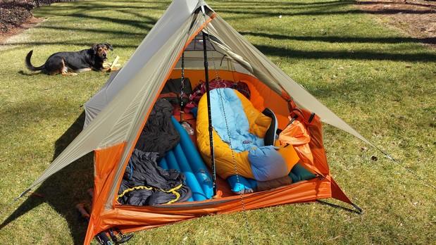 Big Agnes Scout UL2 & SuperFeet u0026 Barnaclesu0027 2014 Appalachian Trail Journal : Testing ...