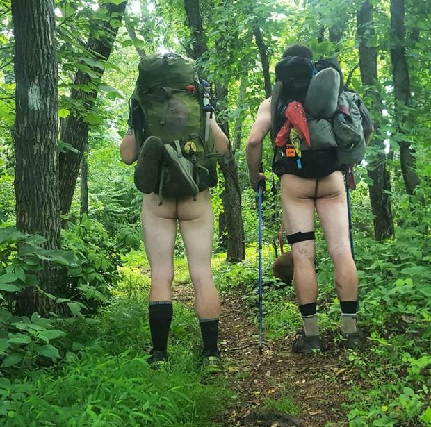 Naked through hikers appalacin