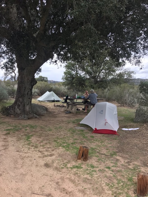 Boulder Oak c&site & Cribbage and Toriu0027s 2018 Pacific Crest Trail Journal : Day 2 ...
