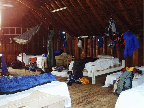 hiker mess at the barn hammock hanger u0027s 2004 appalachian trail journal   august 13 2004      rh   trailjournals