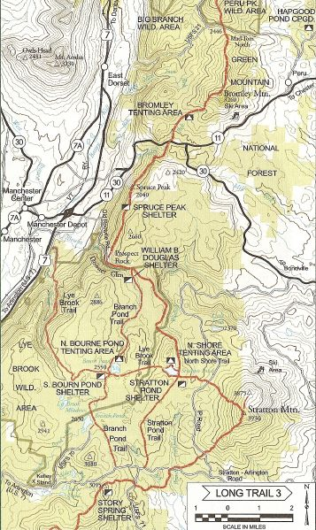 Papa Bear\'s 2010 The Long Trail - Vermont Journal : May 24, 2007 ...