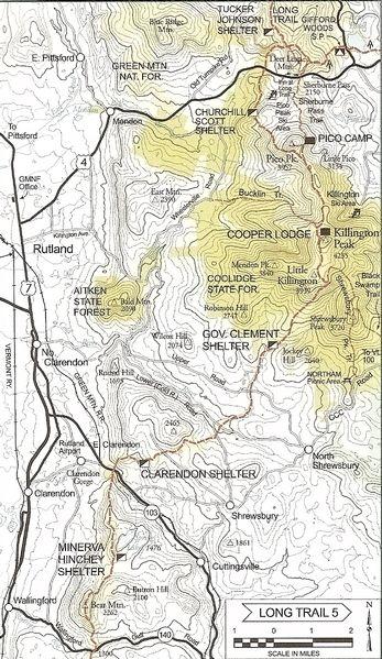 Papa Bear\'s 2010 The Long Trail - Vermont Journal : Photo : Trail ...